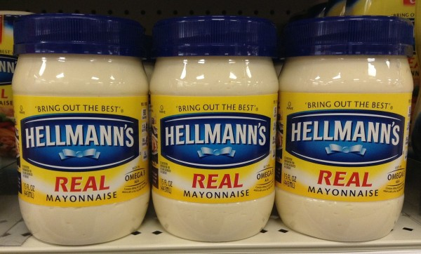 Mayonnaise in store
