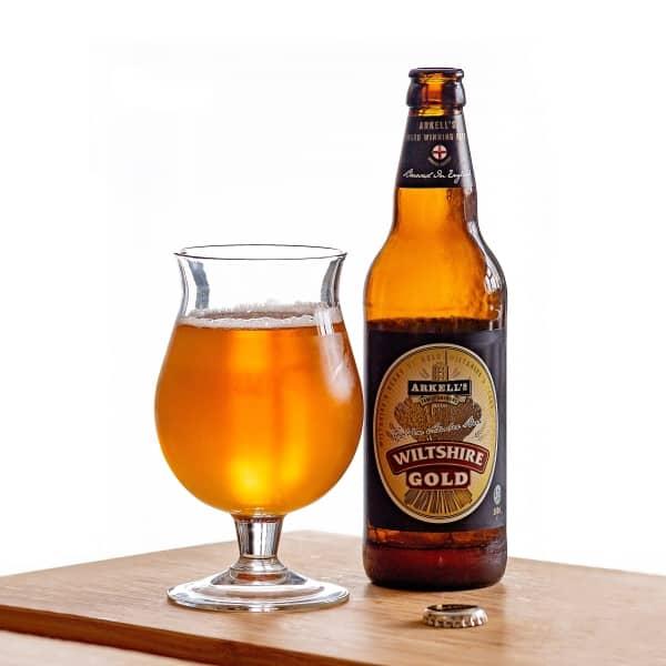 Wiltshire gold beer
